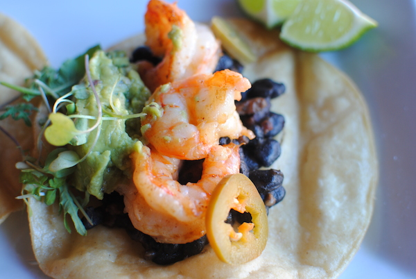 Shrimp Tostados (2)