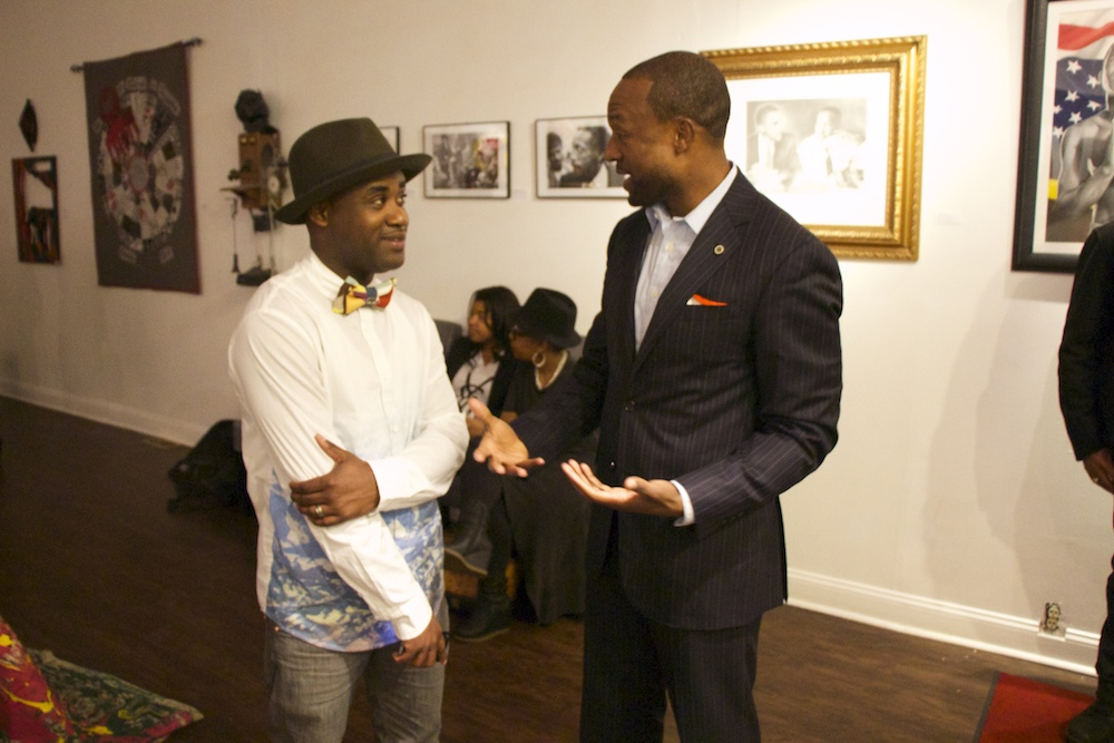 DO2015 Spokesman Mustafa Rashed talks strategy with Tray Chaney
