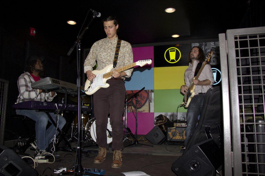 The Brian LaPann Trio rocks out at U-Bahn