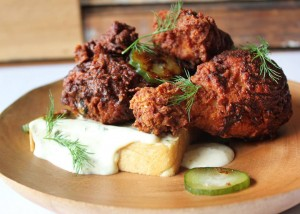 Kevin Sbraga scrapped the first 21 recipes before mastering his Hot Chicken