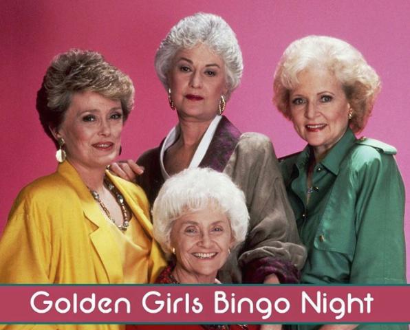 golden girls bingo