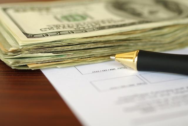 how to write a money contract