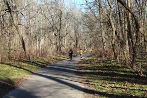 Pennpack trail lets you become one with nature
