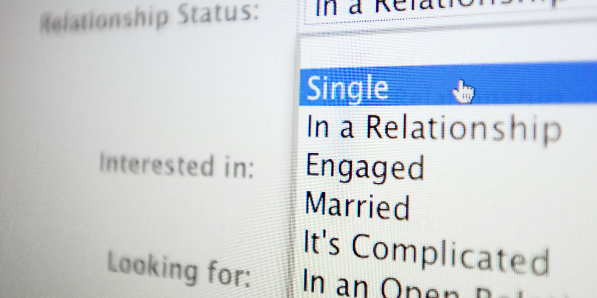 how to change facebook relationship status something funny
