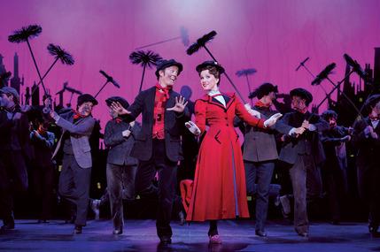 Mary Poppins by Disney and Cameron Mackintosh