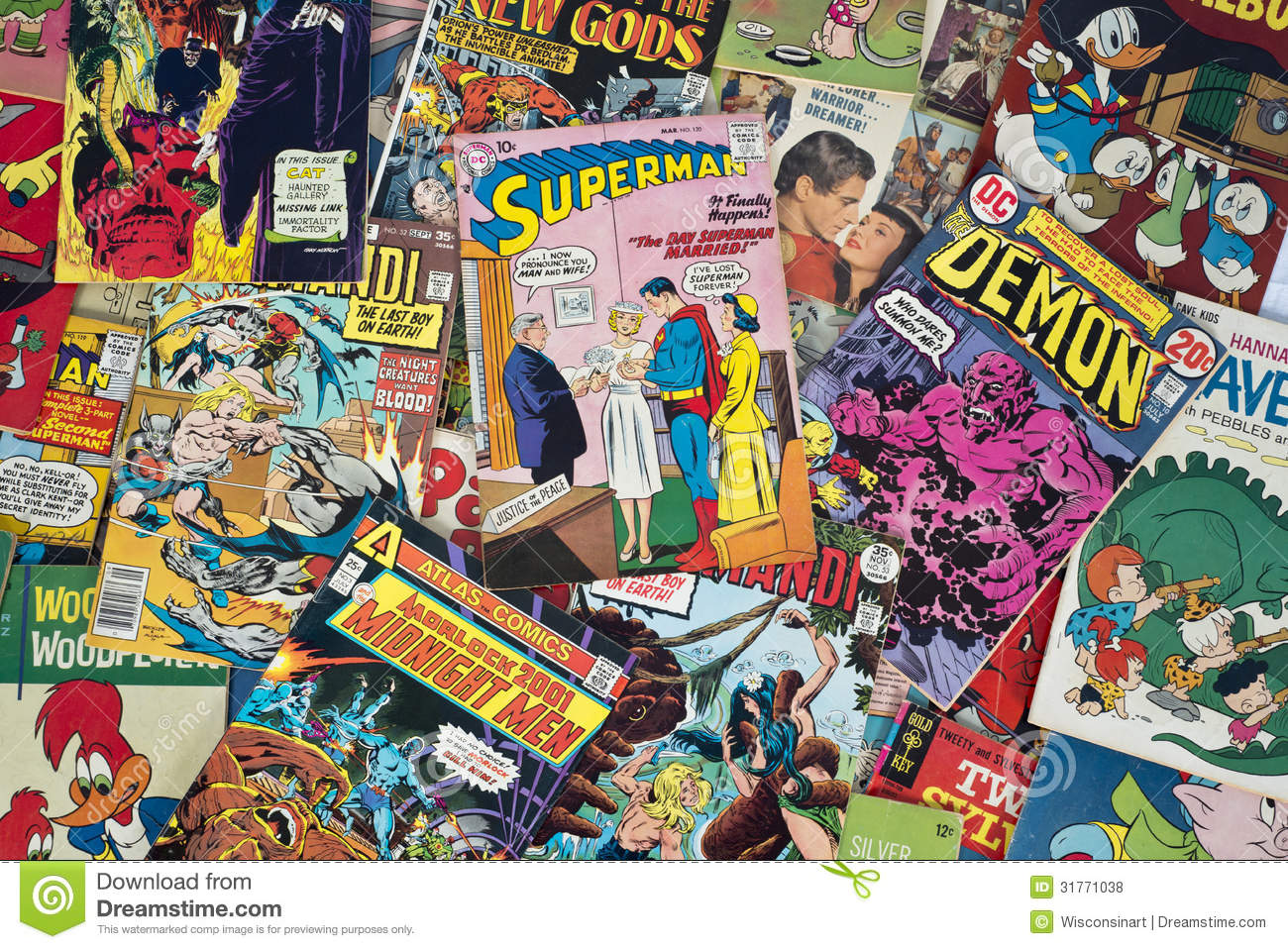 comic book Marvel.