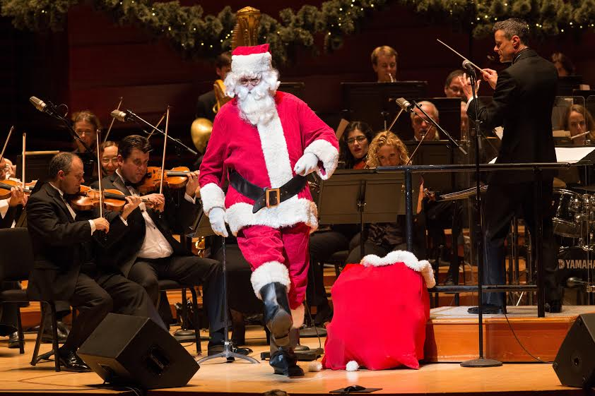 philly pops salutes military and first responders in christmas spectacular wooder ice