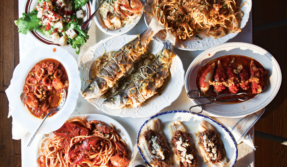 7 philly restaurants to enjoy feast of the 7 fishes for Christmas eve fish dinner
