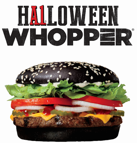 Burger King Unveils the Black Whopper Just in Time for Halloween ...