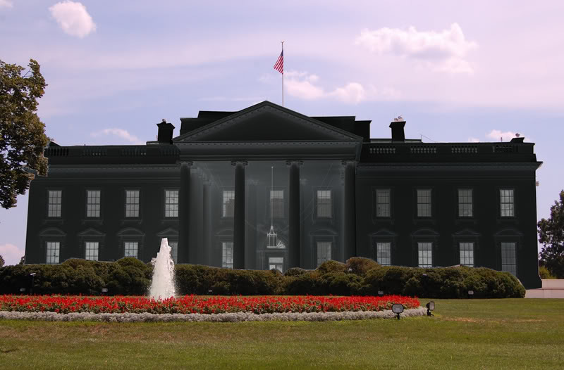 Paint White House Black