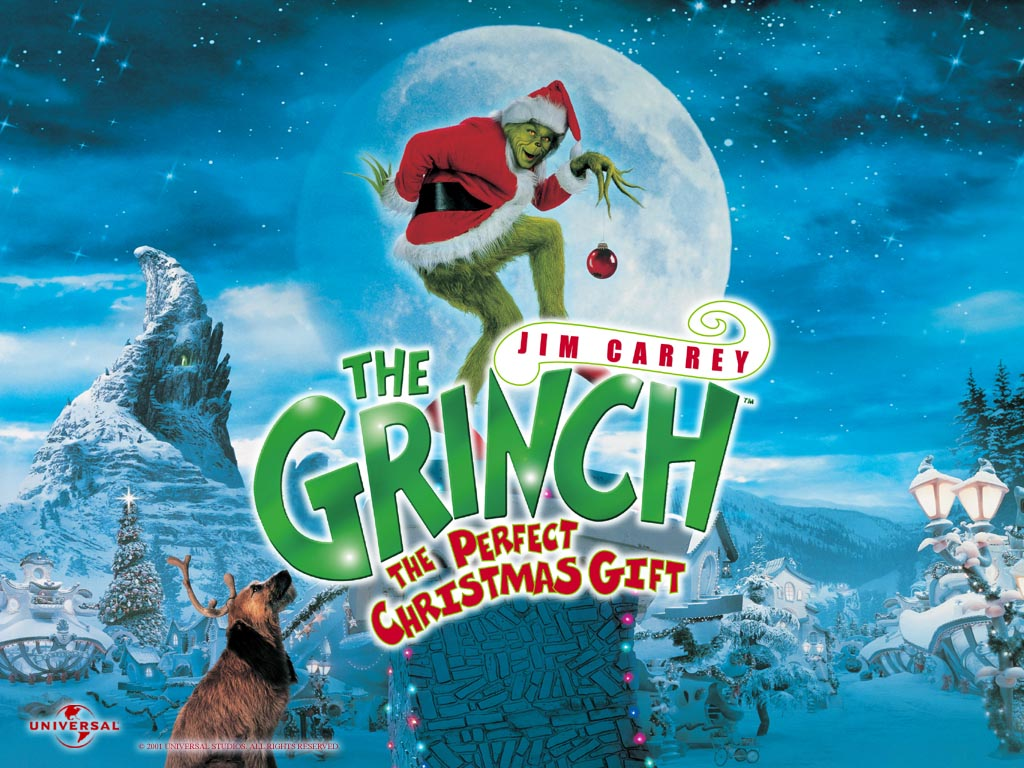 How The Grinch Stole Christmas Movie Poster.Movies At The Riverrink Presents How The Grinch Stole