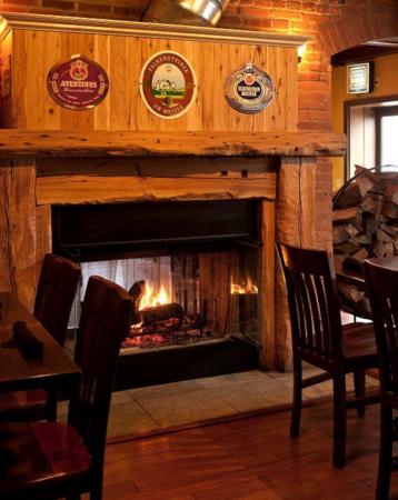 devil's Den Fireplace