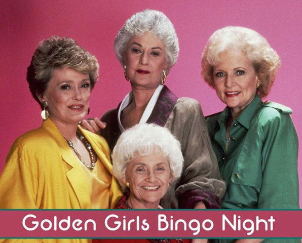 golden girls bingo
