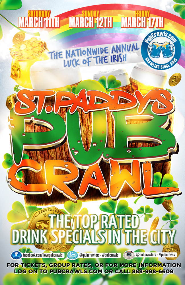 st-patricks-day pub crawl