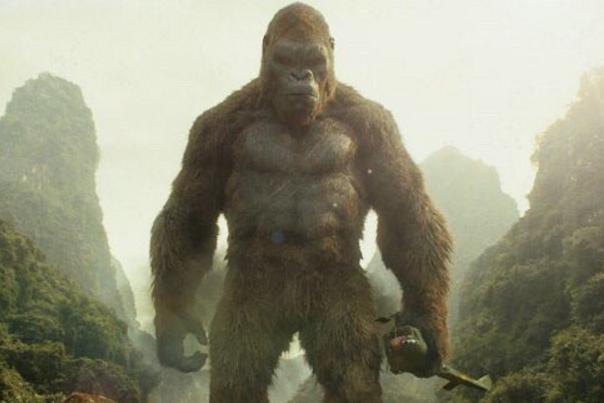 King Kong Vs Kong Skull Island