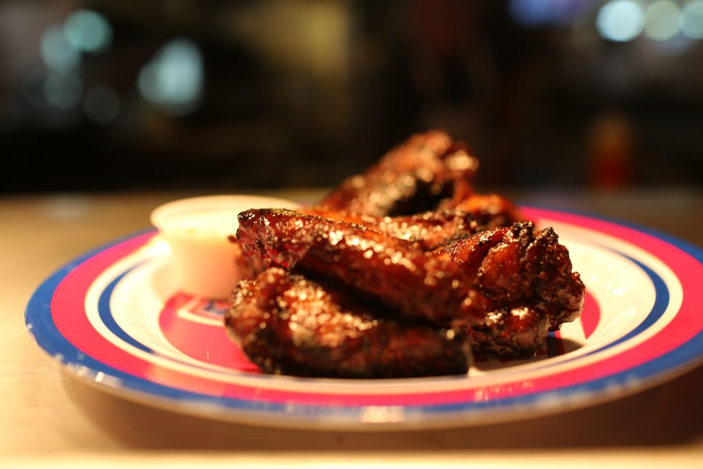 baby blues bbq wings