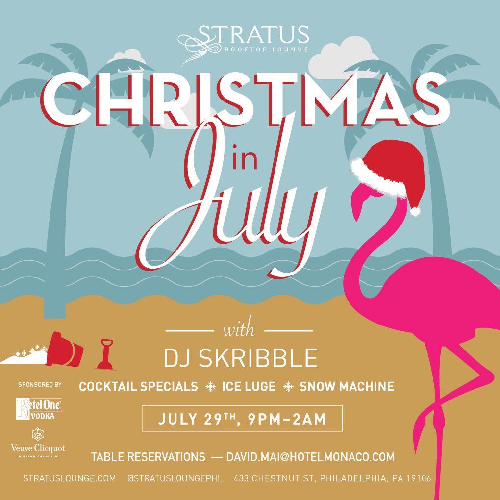 Christmas In July Party.Christmas In July Party Wooder Ice