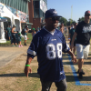 cowboys fan kick out of eagles training camp