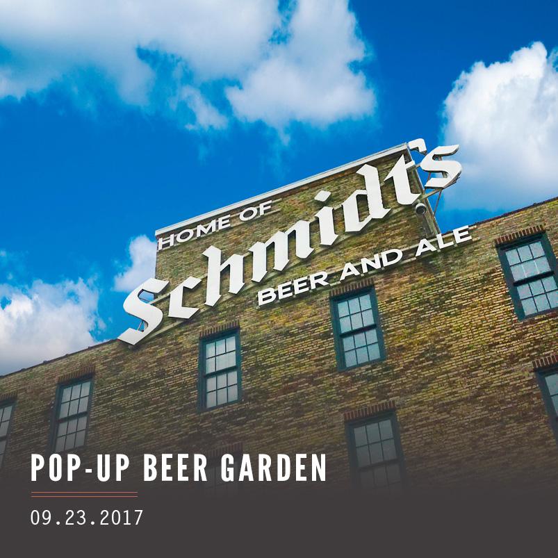 Pop Up Beer Garden Wooder Ice