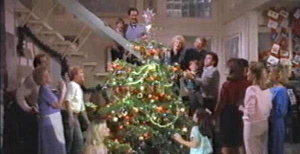 a-very-brady-christmas-cast-christmas-tree-billboard