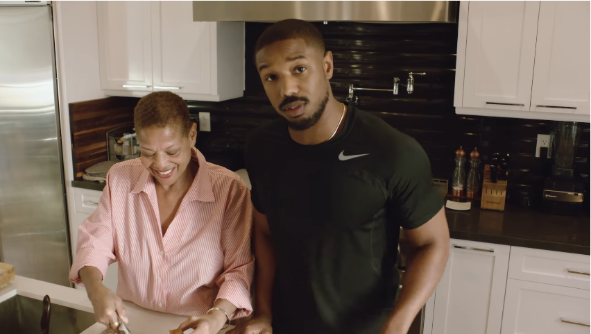 michael b jordan parents