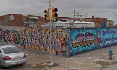 5th and cecil b moore graffiti