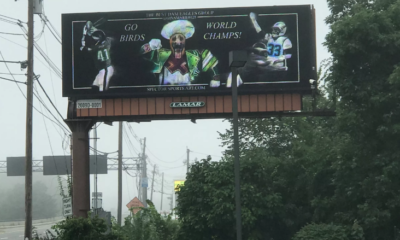 eagles billboard ad