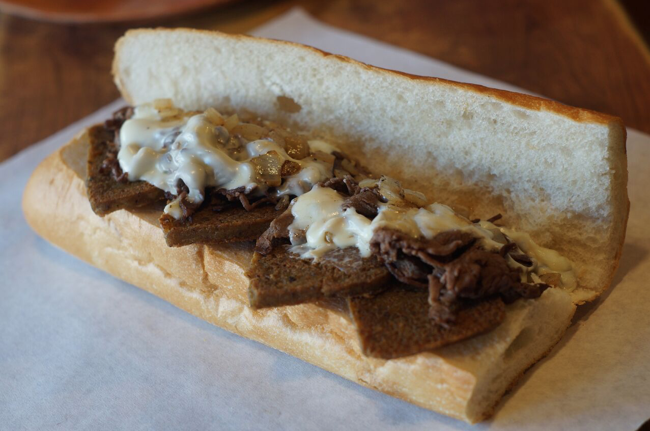 scrapple cheesesteak
