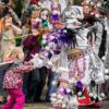 mummers mardi gras festival