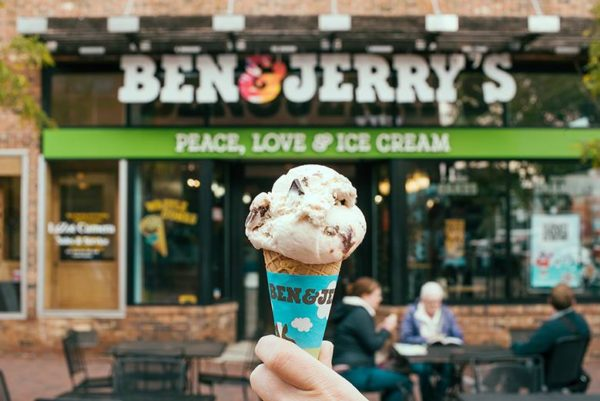 free ben and jerrys cone