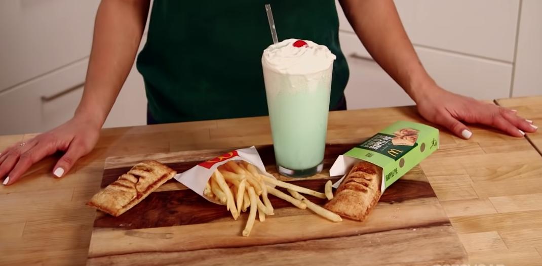 how to make the shamrock shake