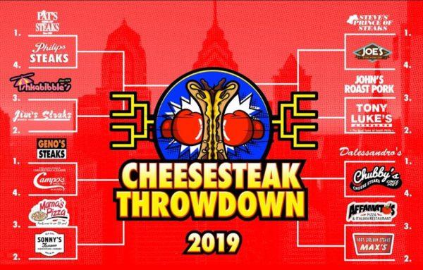 the cheesesteak throwdown