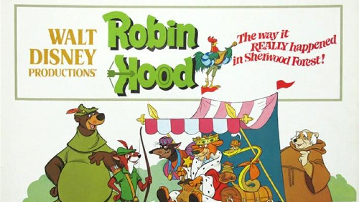 Movies at Schuylkill Banks- ROBIN HOOD (DISNEY 1973)