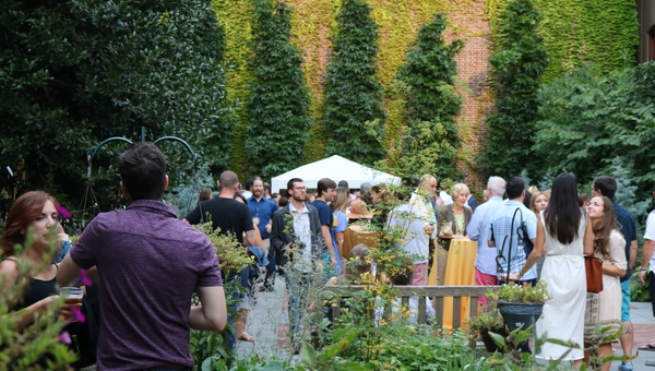 mütter museum Summer Beer Garden