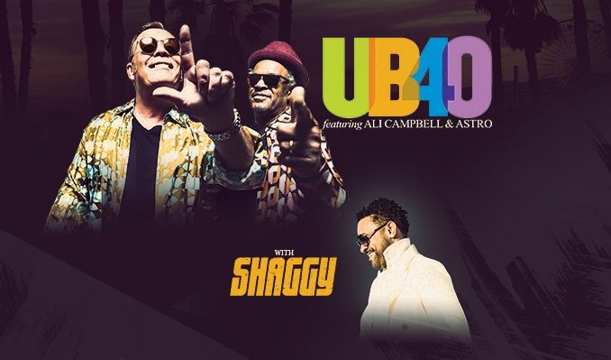 UB40 Featuring Ali Campbell and Astro + Shaggy