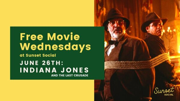 Free Outdoor Movie Night - Indian Jones and the Last Crusade