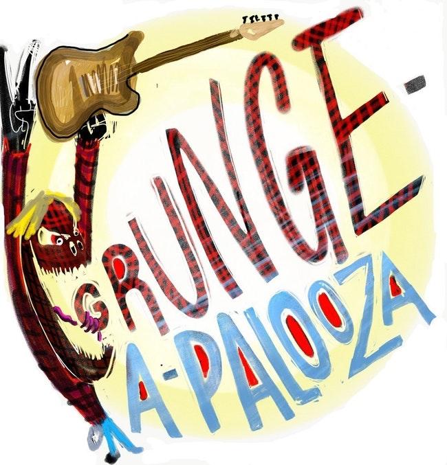 GRUNGE-A-PALOOZA: GRUNGEADELPHIA