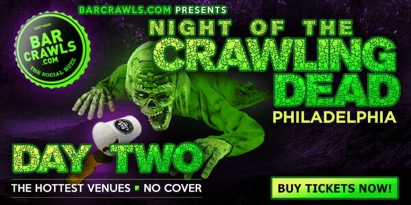 Night of the Crawling Dead Bar Crawl