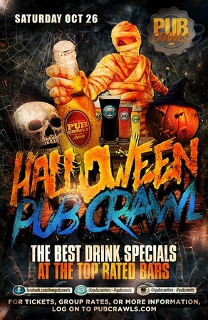 Philadelphia Halloween Weekend Pub Crawl