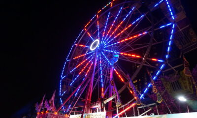 ChristmasVillage_FerrisWheel Night