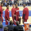 sixers fan heckles heat player