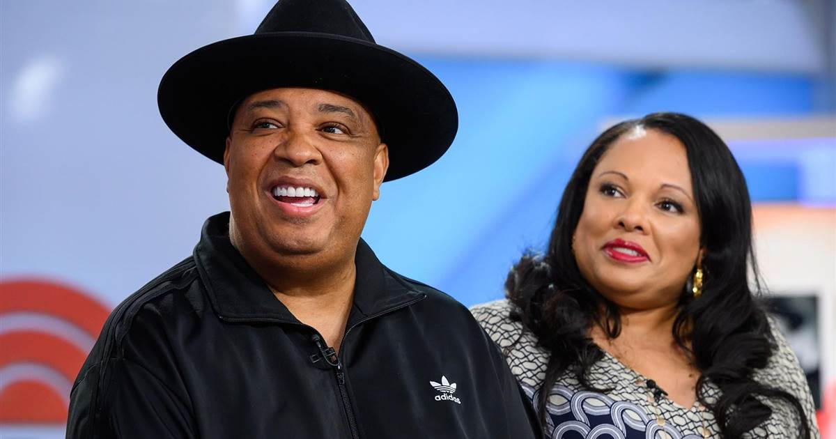 "Joseph ""Rev Run"" Simmons and Justine Simmons 