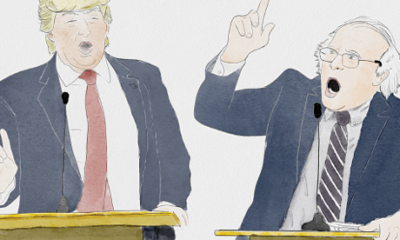 Trump vs. Bernie: The Debate