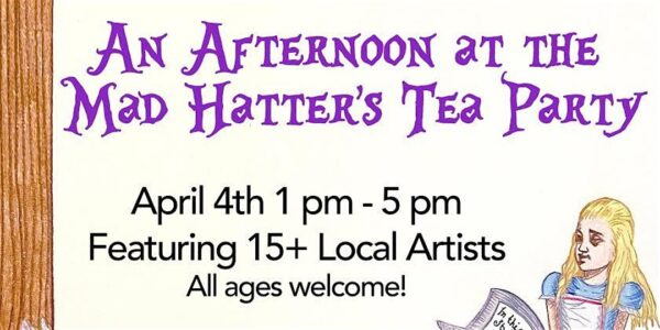 Art in the Sky: Mad Hatter's Tea Party