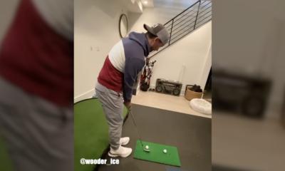 jake elliott golf trick shots