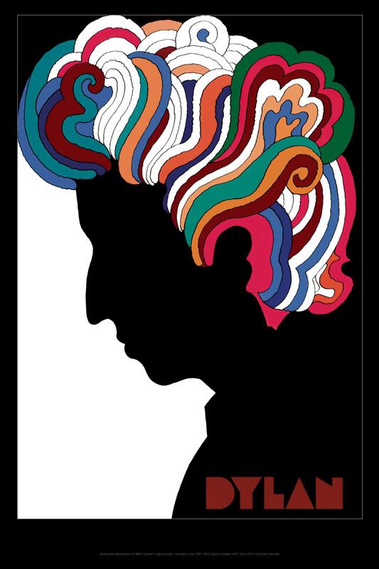 bob-dylan - Milton Glaser