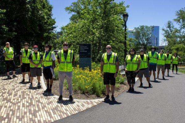 social distancing ambassadors -philly parks